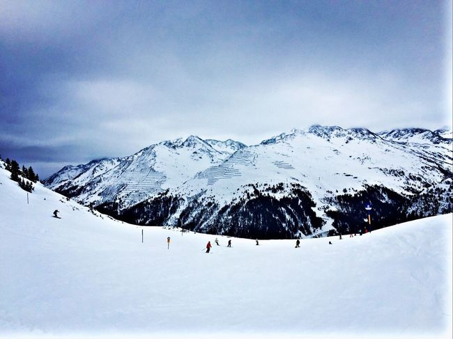 Down St Anton Stanton  Stantonamarlberg Ski Skiing Skiing ❄ Snow Snow ❄ Austria Tyrol
