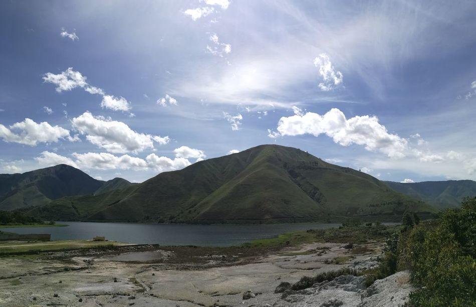 Lake View Lake Toba Lakeside Lake Danau Danautoba Danau Toba Clouds And Sky Been There.