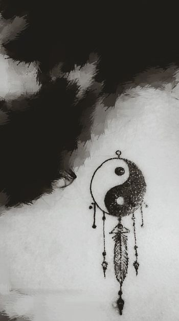 2nd Ink Tattoo Inked Yin & Yang Symbolism Balance Meaning Of Life Eyem Tattoo Lovers ☯