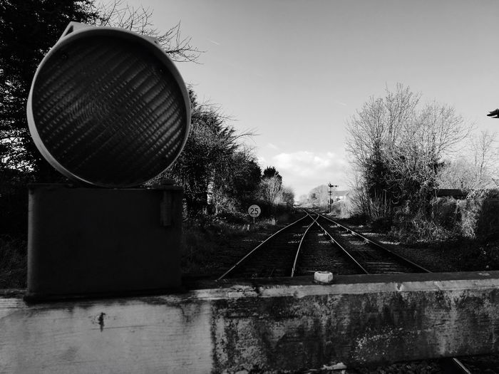 Railroad Track No People Day Nature Outdoors Sky Allsoppphotography