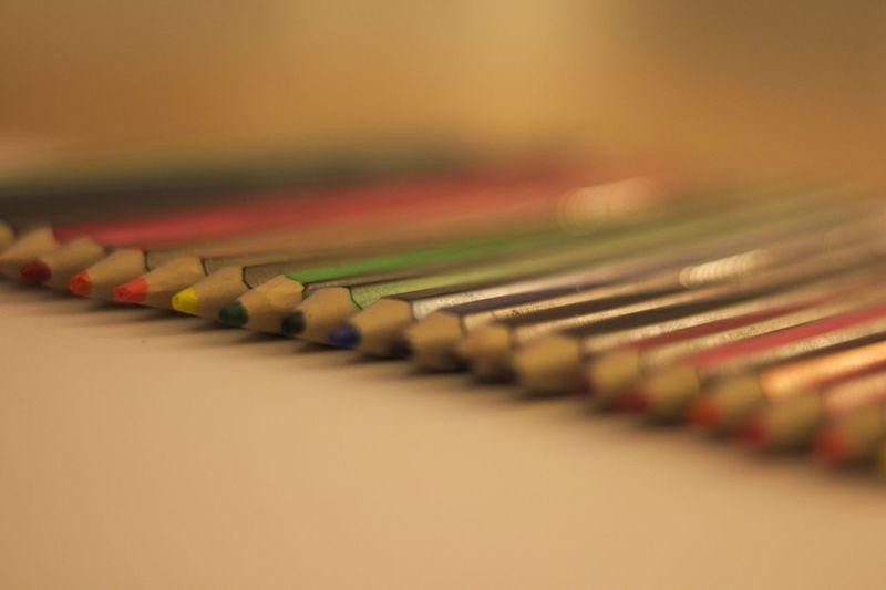 Pencils Buntstifte Colored Pencils Indoors  Multi Colored No People Selective Focus Stift