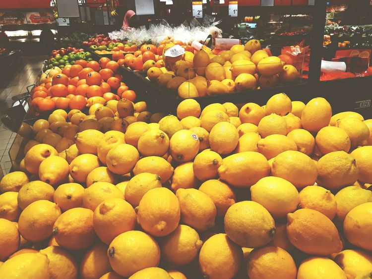 of a hypermarket fruit section Fruit Market Supermarket Retail  Close-up Food And Drink Price Tag For Sale Various Price Citrus Fruit Retail Display Raw Variety