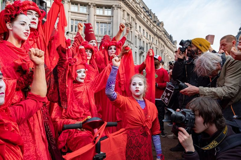 Extinction Rebellion Day Three Protesr Extinction Rebellion Group Of People Large Group Of People Crowd Real People Architecture Celebration Built Structure British Culture Springtime Decadence The Photojournalist - 2019 EyeEm Awards