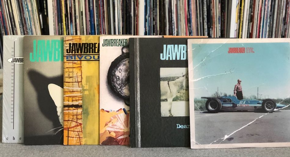 Jawbreaker. Favorite punk band ever. 12inch Vinyl Vinyl Records Punkrock No People Art And Craft Publication Creativity Communication Book Graffiti