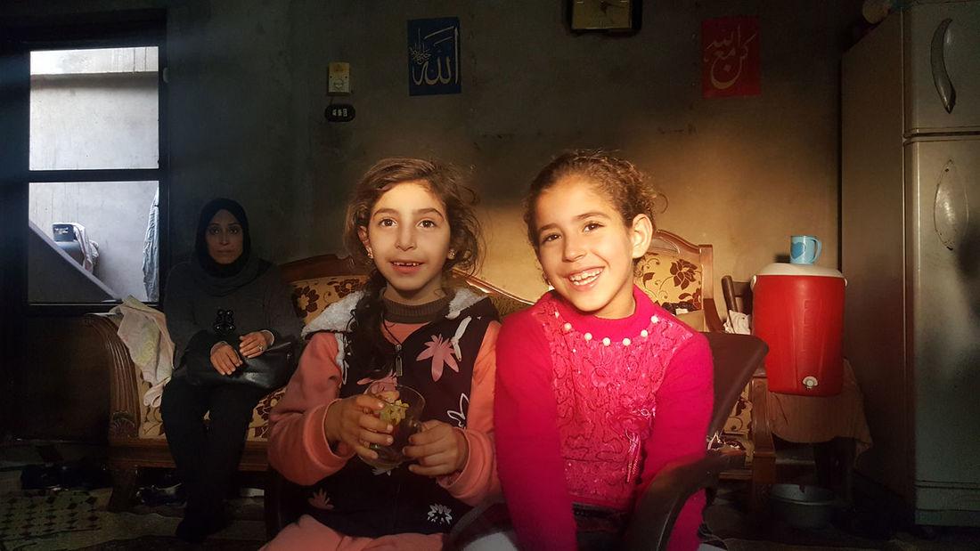 Egypt Happiness Portrait Smiling égypte