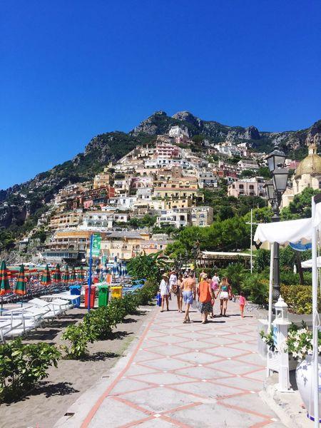 Amalfi Coast Architecture City Wonderfoul Holiday