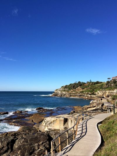 Feel The Journey Bonditobronte Walking Walking Track Ocean Walk No People Sunshine Outdoors