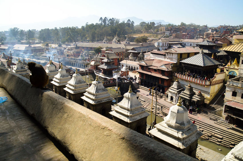 Kathmandu, Nepal Pashupatinath Temple Place Of Worship Religion Culture And Tradition Travel Travel Photography Architecture City Cityscape Sky