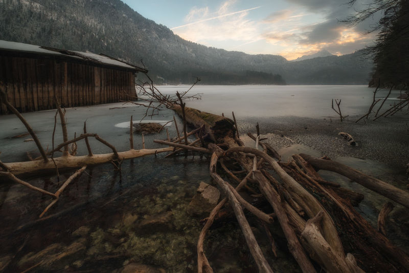Sunset at Alpsee part II Water Nature Sky Beauty In Nature Lake Mountain Scenics Outdoors No People Day Mystyle Idyllic Natural Parkland Cold Temperature Travel Destinations Winter Vacations Ice Taking Photos Fuji Fujifilm Nature Mountain Peak Landscape Sunset