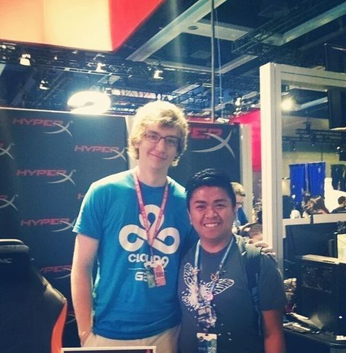 Day 4 of PAXPrime2015 is almost over and this weekend couldn't have been better! Was able to snag a picture and an autograph from @meteoslol!! C9 Meteos LastDay LeagueofLegends Hessotall SenpaiKawaii