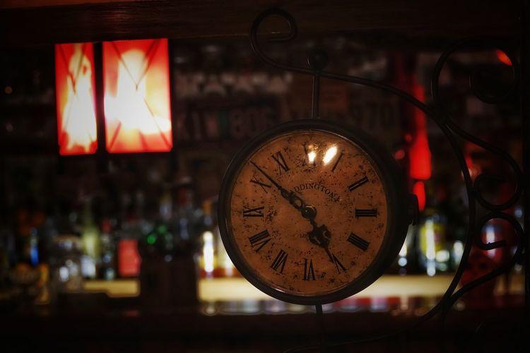 alte Uhr mit
