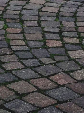 Beautifully Organized Backgrounds Paving Stone Outdoors Cobblestone Day No People Abstract Squared Floor Road Cuneo