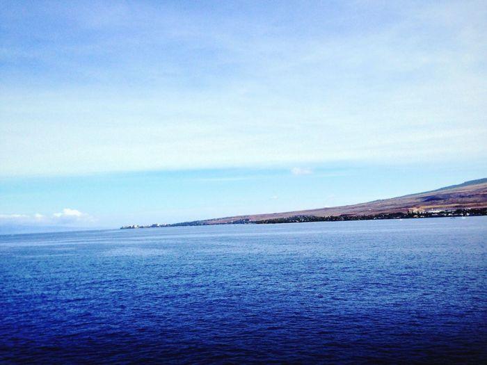 Koduckgirl IslandView Blue Cruise 2013 Horizon Over Water Atol Island