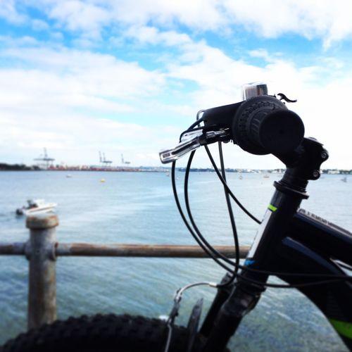 Cloud - Sky Sky Outdoors Close-up Harbor Nautical Vessel Nature Bike Water Sea City