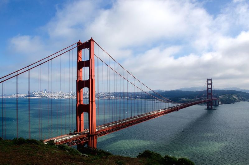 Beautiful fog-free day in the Marin Headlands. Enjoying The View San Francisco Urban Nature Light And Shadow EyeEm Best Shots Ocean Architecture Hiking EyeEm Bestsellers Market Bestsellers August 2016 Bestsellers