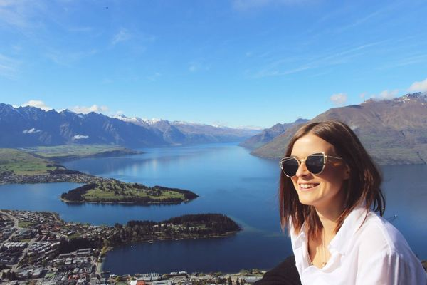 Queenstown New Zealand View From Above View Mountain Nature Beauty In Nature Vacations Outdoors Lake Scenics Home