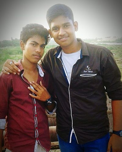 Me with my frnd...😉😉😉