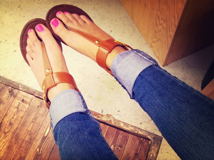 My toes ;p