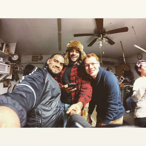 Friends Enjoying Life Hello World Hanging Out Party Gopro