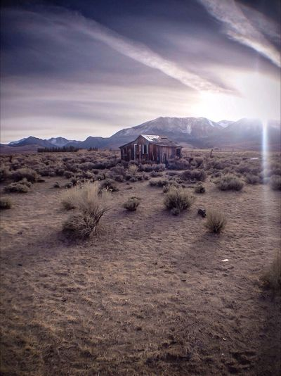 Eastern Sierra That 395 House Abandonded IPhoneography