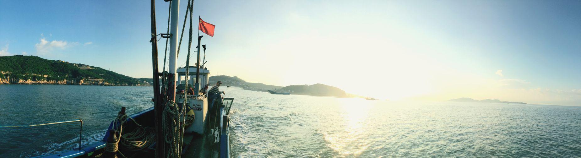 东海海域--第一次出海捕鱼