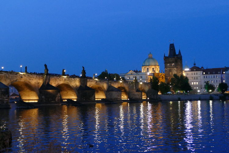 Architecture City Cityscape Czech Republic Prague Prague Bridge Prague River Architecture Backgrounds Blue Sky Bridge Building Exterior Built Structure City Lit Up At Night Illuminated Landscape Outdoors Prague City Refliction River Ship Sky Steamship Sunset Water