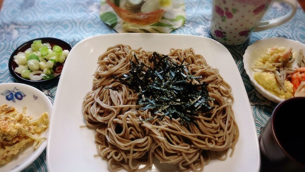 そば☆ Healthy Food Japanese Food Foodporn Yummy Soba Noodles Lunch