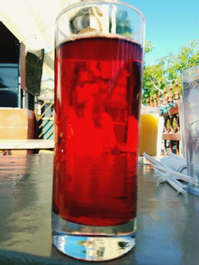 Cranberry Portrait Drink Drinking Glass Red Cocktail Food And Drink Cold Temperature Close-up No People Freshness Day Sky Juice Breakfast Tucson Arizona  University Main Gate Square
