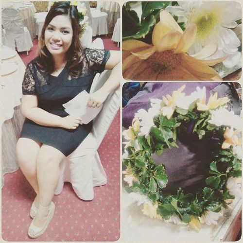 The day when I was a real DYOSA! Jk! Hahahahaha Thanks to Babe for supporting me ^_^ AcquaintanceParty2015 STICollegeBohol