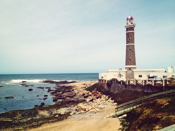 Uruguay Lighthouse Beach Vacation