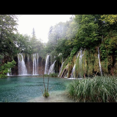 Plitvice Waterfall Nature Croatia