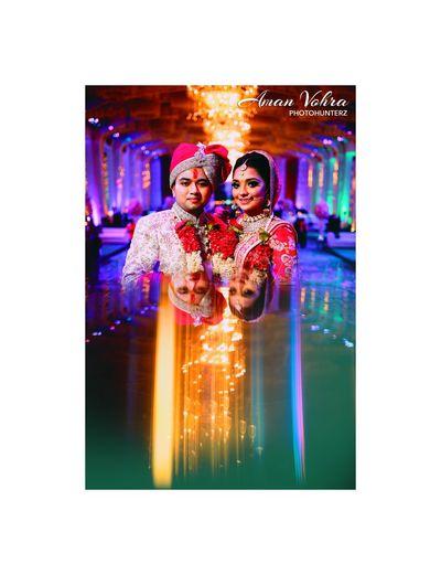 indian wedding Indian Wedding Indian Bride Wedding Photography Couple Reflection
