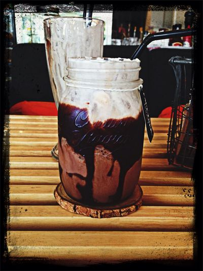 Iced chocolate, what could be better