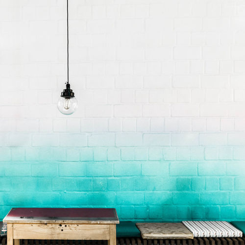 Bricks Bulb Cable Color Cushion Electricity  Gradient Green Illuminated Lamp Lieblingsteil Light Bulb Lighting Equipment Power Supply Table Minimalobsession White White Background Style Minimalism Minimal Shabby Chic The Architect - 2017 EyeEm Awards Interior Minimalist Architecture The Graphic City