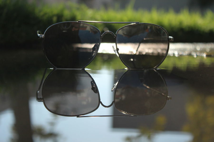 Close-up Day Eyeglasses  Eyewear Focus On Foreground Nature No People Outdoors Reflection Sunglasses Water