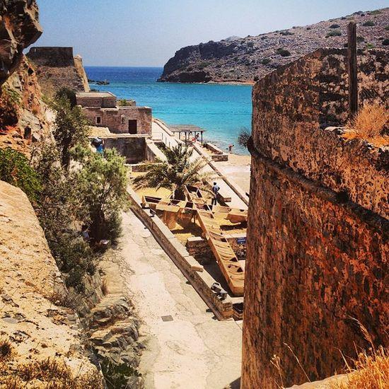 Greece Spinalonga Crete Island