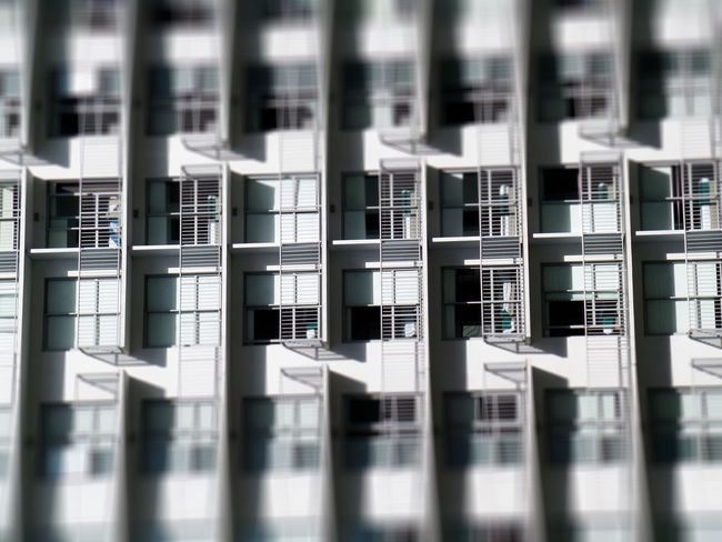 Architecture No People Built Structure New Zealand Auckland Light And Shadow Black And White Urban Landscape Building Exterior Window Apartment Miniaturized Rotated