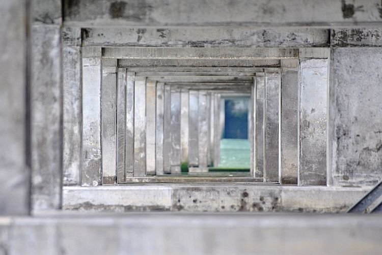 Below The Dike Architecture Built Structure Window No People Day Building Old Outdoors Nature