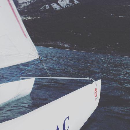 Catamaran fahren