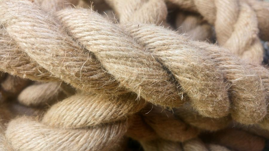 strong Rope Ropes And Lines Ropes Strong Natural Rope Sisal Rope Sisal Backgrounds Full Frame Close-up Fiber