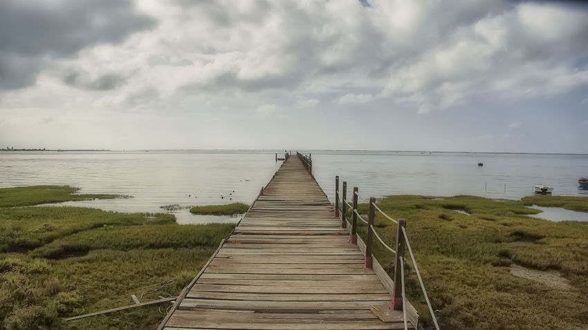 Beach Beauty In Nature Nature Olhao Portugal Scenics Sea Tranquil Scene Tranquility