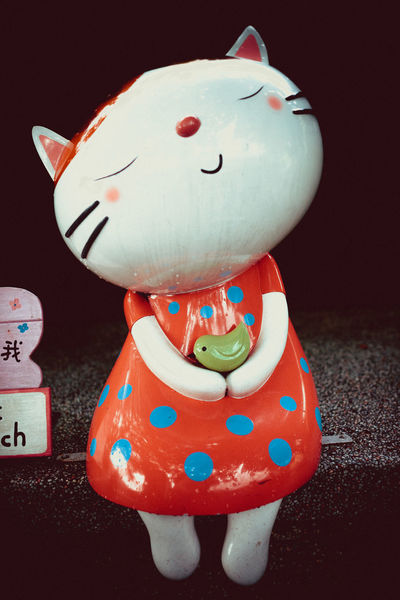 Lost in Houtong cat village, New Taipei City Astrology Sign Cat Village Close-up Day Houtong Cat Village New TaipeiCity No People Outdoors Piggy Bank Taipei Taiwan