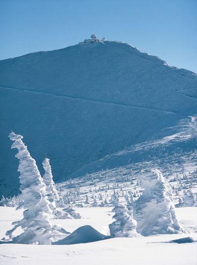 Cold Frost Karkonosze Landscape Mountain Mountains Poland śnieżka Snow Winter śnieżka śnieżka