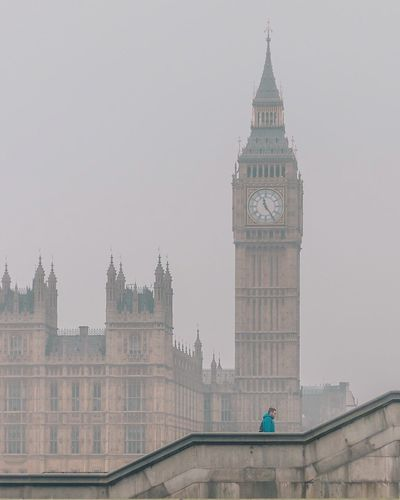 Big Ben London Government Day Outdoors No People Sky City Clock Politics And Government