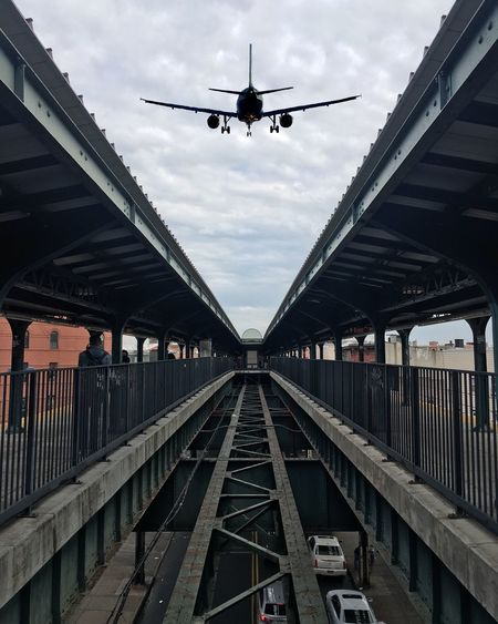 Photography In Motion Aviation Airplane AirPlane ✈ My View Station Train Station NYC Enjoying Time NYC Photography Enjoying The Sights Enjoying Life Enjoying The View Captured Moment Capture The Moment Enjoying The Moment Places I've Been Rsa_streetview Brooklyn New York City Street Photography Streetphoto Up In The Air Up In The Sky Up In The Clouds