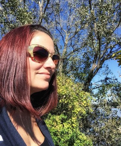 Taking a walk Person Outdoors Beauty Taking Photos Beauty In Nature Serinity Sunglasses Redhead Fall Colors