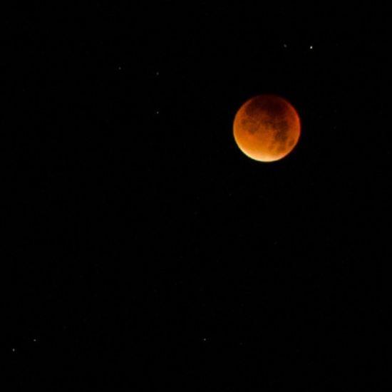 Heute morgen ... im Halbschlaf ... nachdem ich von meiner Frau geweckt wurde ;-) This morning ... half asleep ... after my wife woke me up ;-) Bloodmoon Germany Bloodmoon2015 Lunar Eclipse Mondfinsternis Blutmond