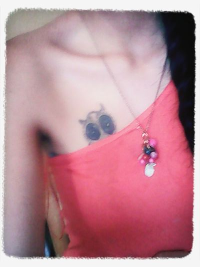 Doliiooooo, me movi y quedo chuecoo :( My Tatoo!!! Owl Tattoo Brown Skin