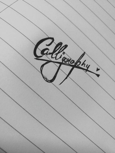 😍My new addiction😍 Close-up Bored Day Paper Calligraphy. Pen Communication Full Frame