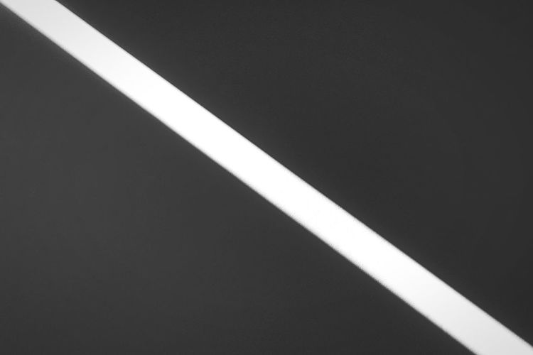 Diagonal Sunlight Minimalism Blackandwhite Kris Demey Photography White Color No People Single Line Dividing Line Pattern